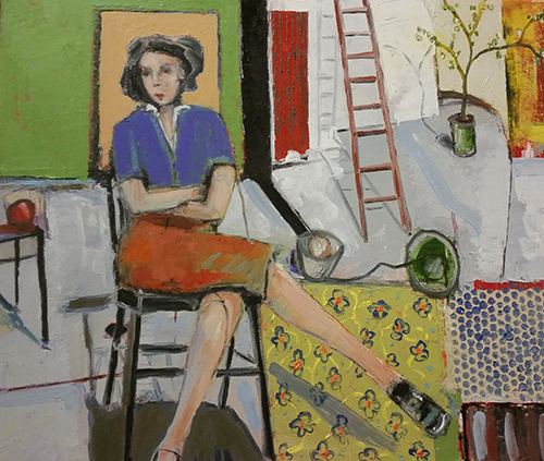 Christy Keeney - Seated Woman