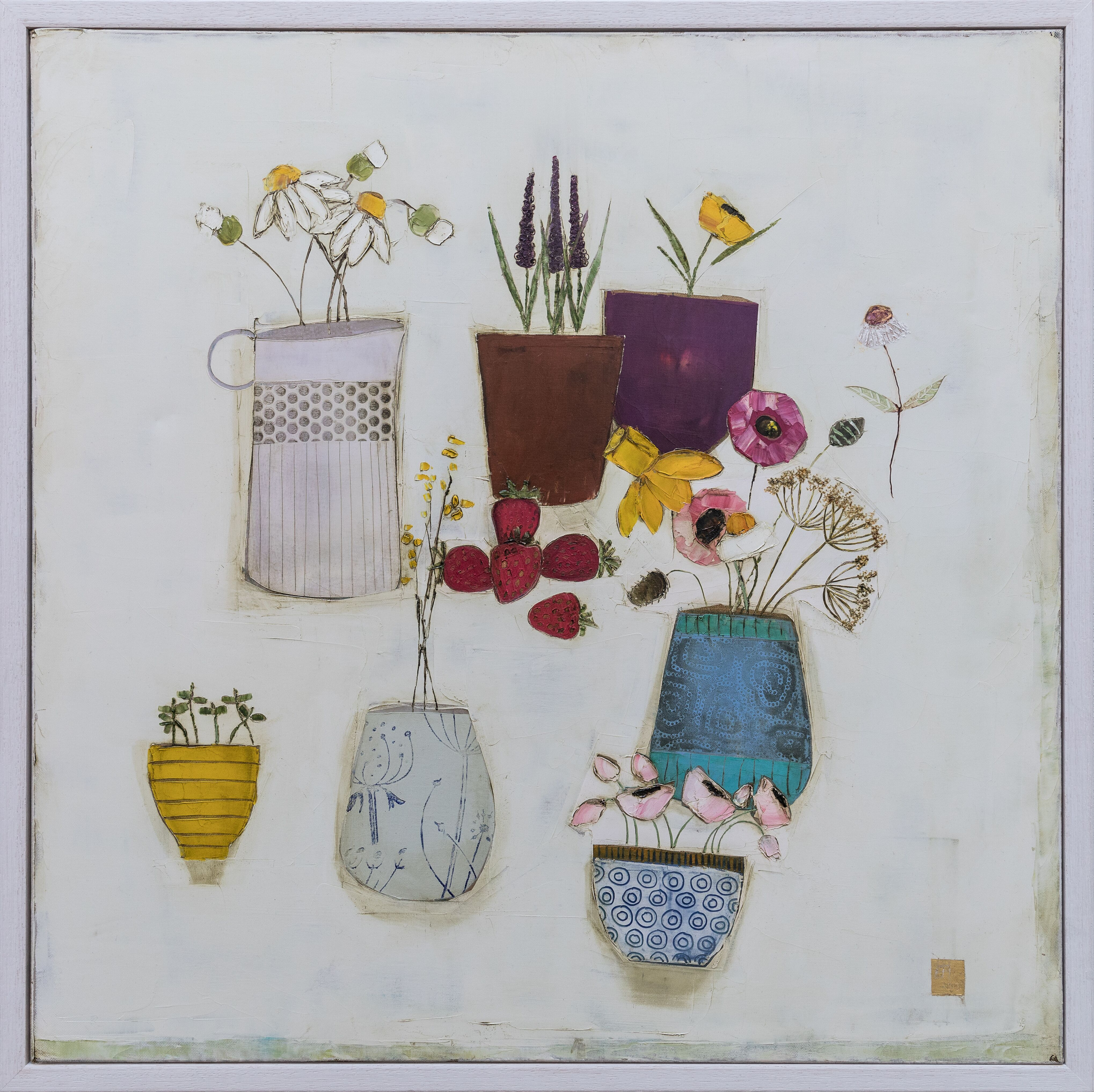 Eithne  Roberts - More garden pickings