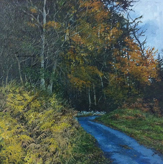 Geraldine O'Reilly Hynes - Autumn Road I