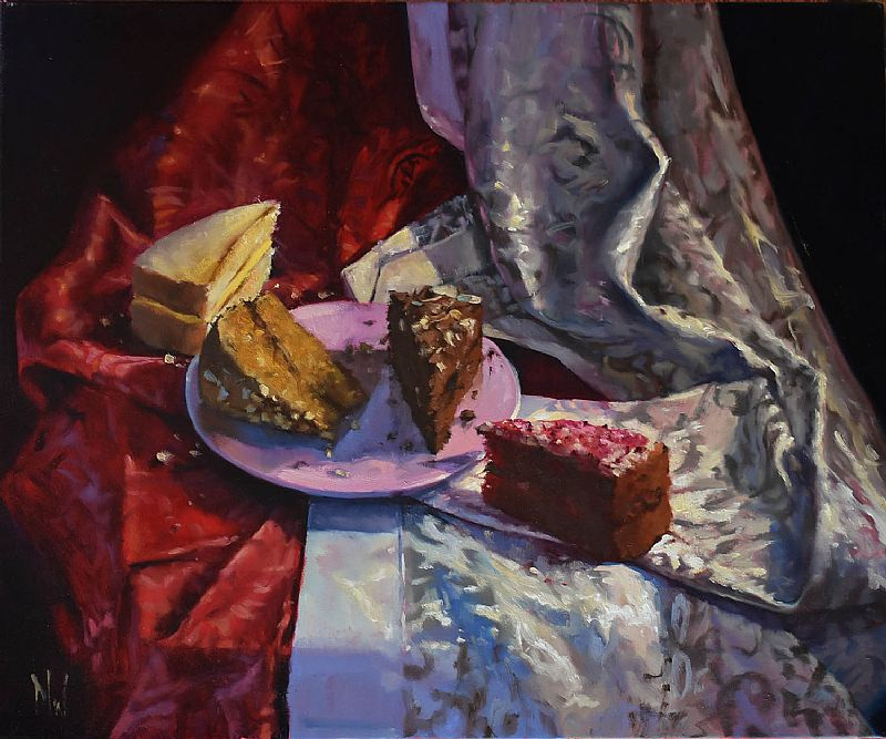Dave West - Cake Still Life