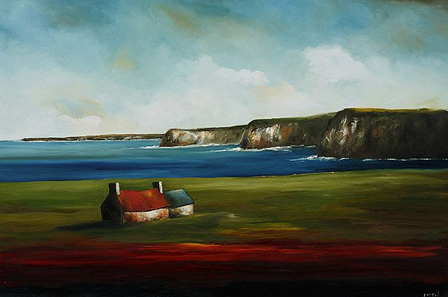 On the Clare Coast by Padraig McCaul