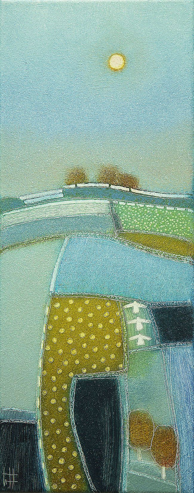 Rob van Hoek - With the setting sun