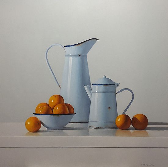 View Two Jugs & Oranges