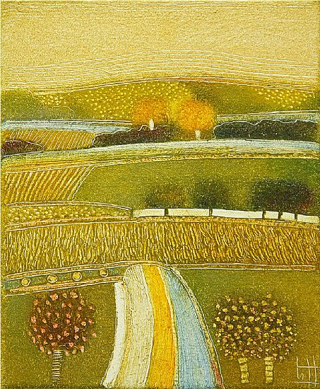 Rob van Hoek - On a golden autumn day