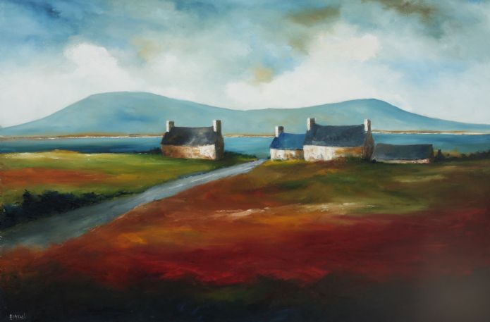 "Padraig McCaul Solo show -  ""When All Roads Lead Home"""