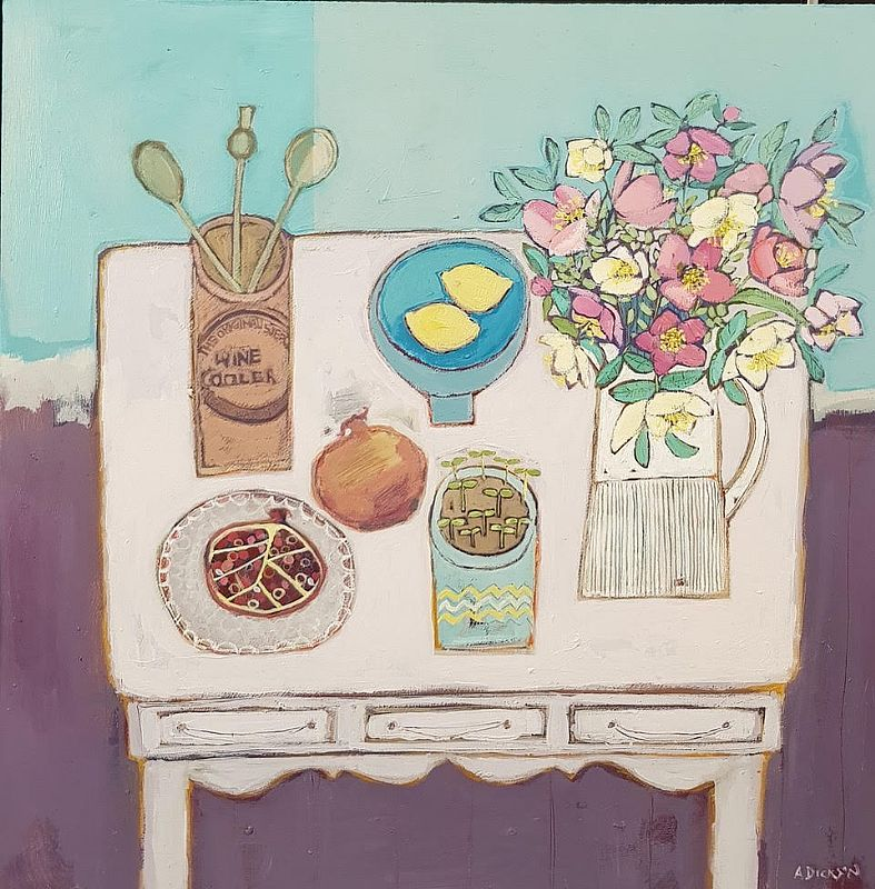 View Kitchen Table Still life