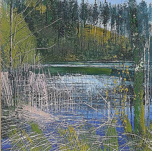 View Spring at the lake