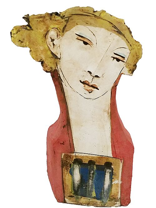 Flat Head I by Christy Keeney