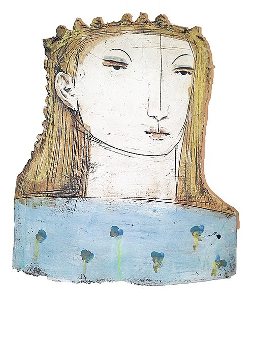 Large Flat Head I by Christy Keeney