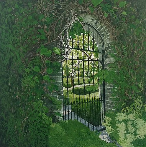Geraldine O'Reilly Hynes - A Secret Garden