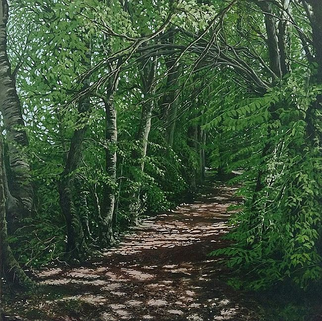 Geraldine O'Reilly Hynes - Light Dappled Path