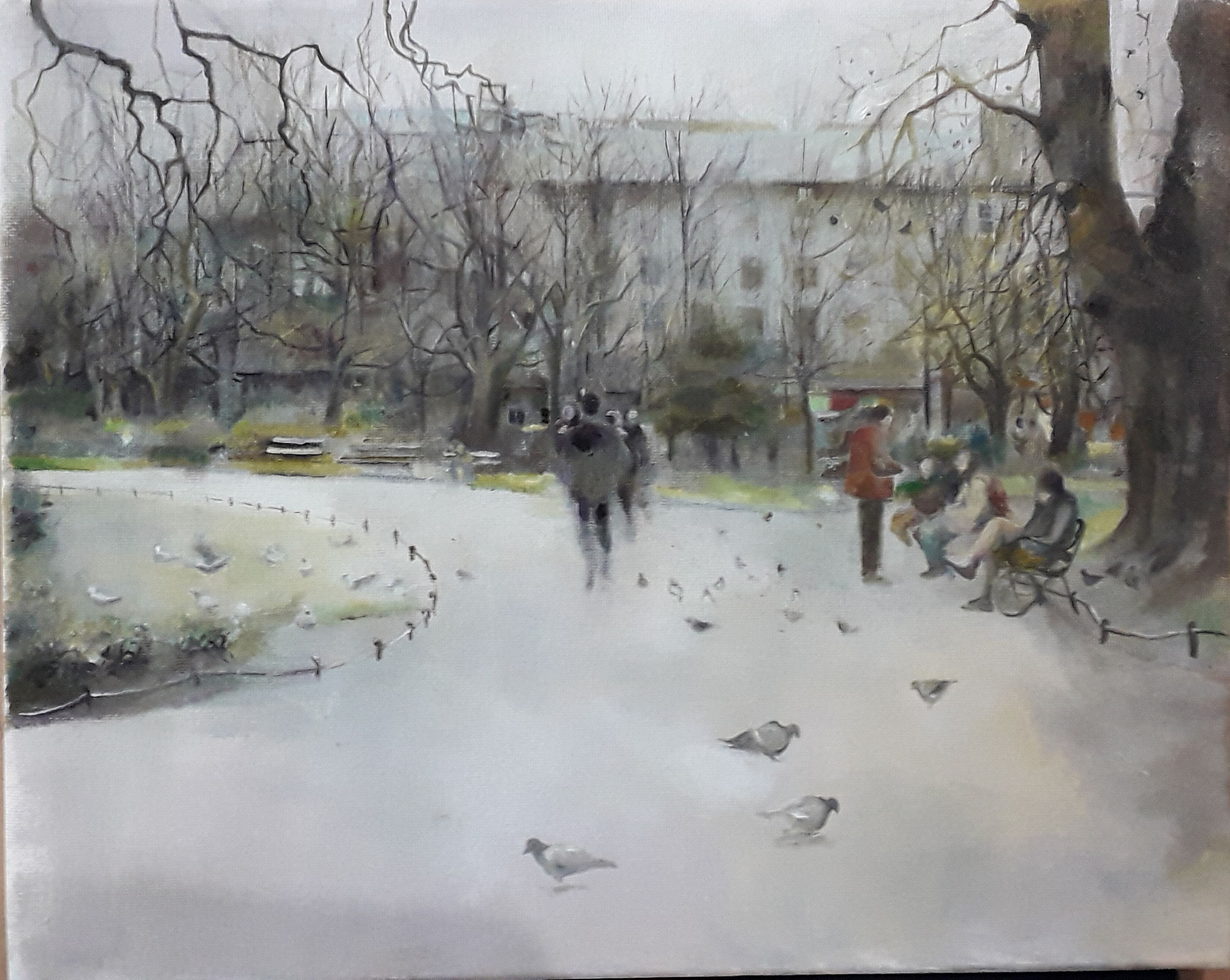 Through Stephen's Green by Maggie Wright