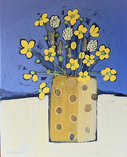 Alison  Dickson - Buttercups and clover