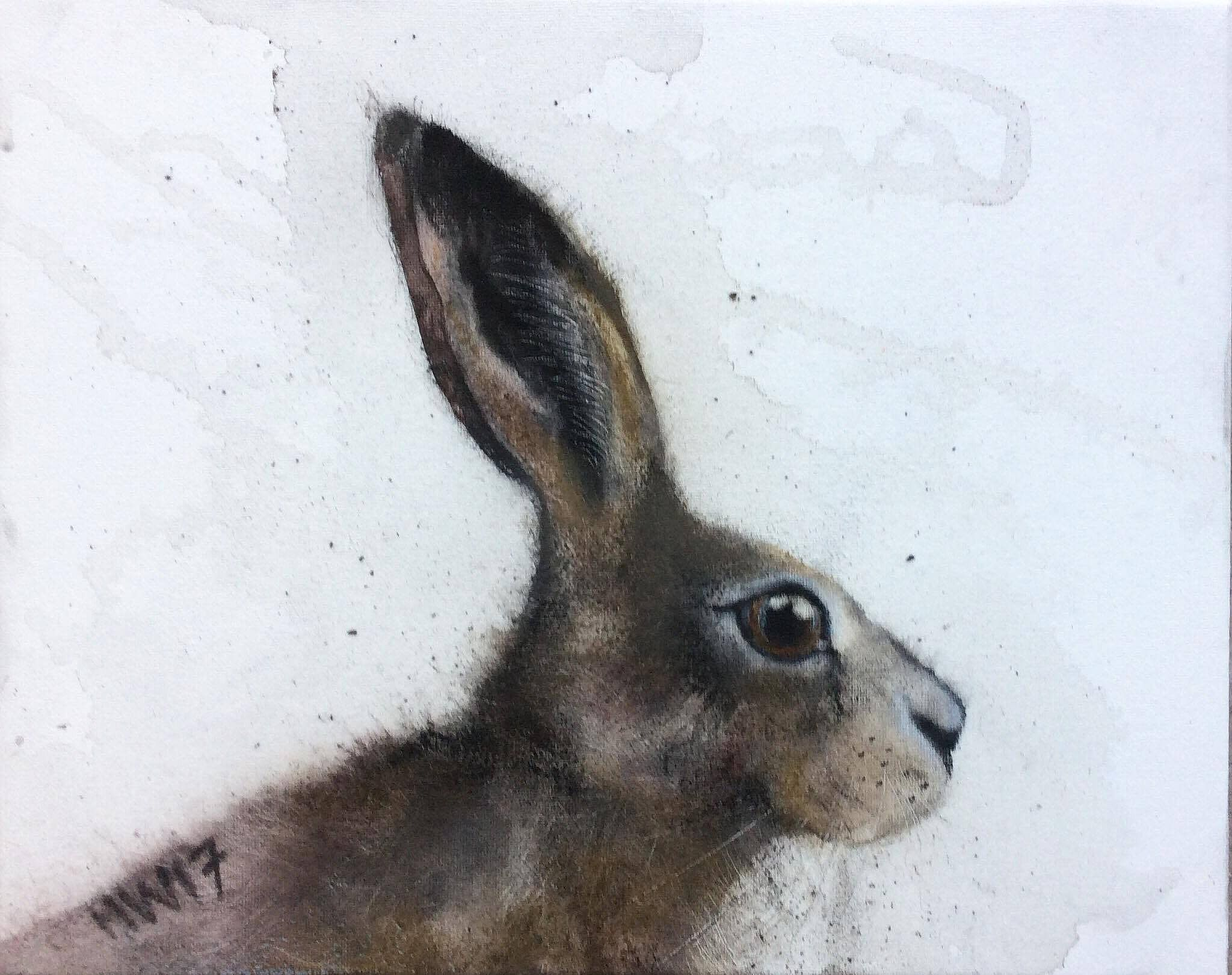 Small Hare by Heidi  Wickham