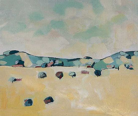 David O'Connor - Rathbane looking North to Carrig Mountain -Wicklow