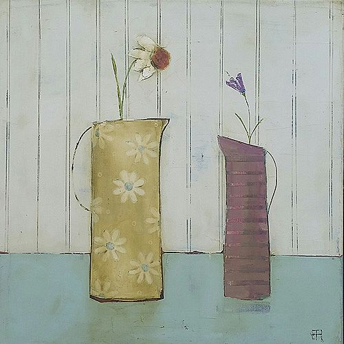 Eithne  Roberts - Two Tall Jugs