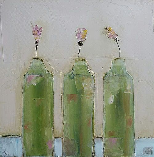 Eithne  Roberts - Three green bottles