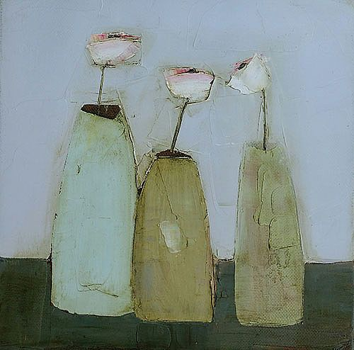 Eithne  Roberts - Three small vases