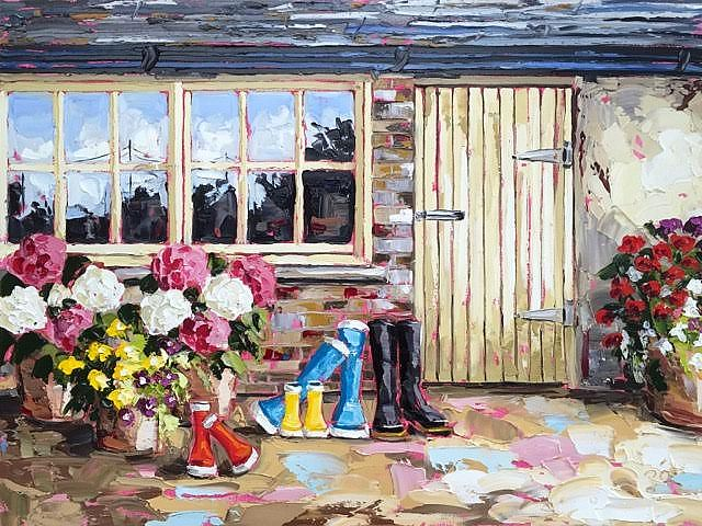 Roisin  O'Farrell - Mr. Foster's potting shed