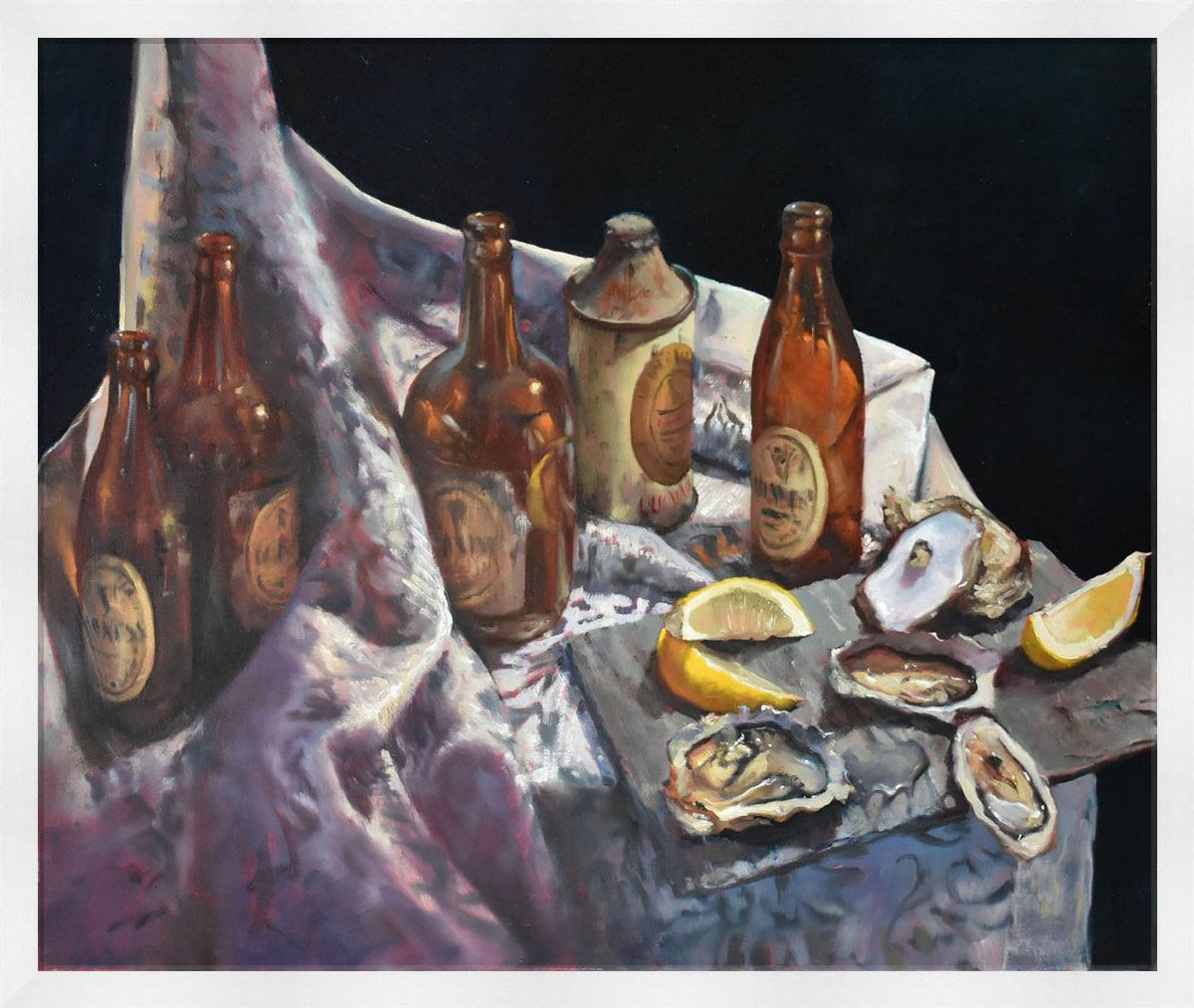 Oysters & Guinness by Dave West