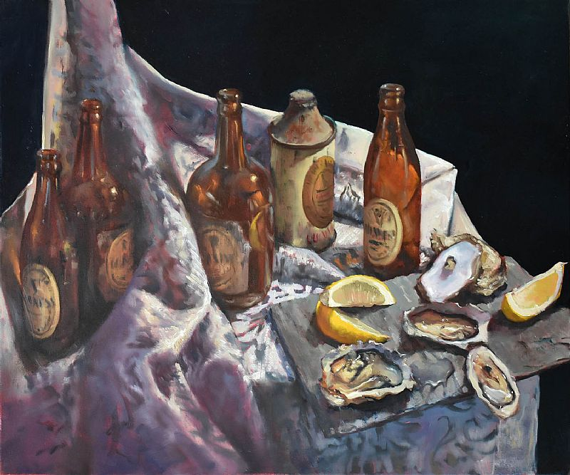 Dave West - Oysters & Guinness