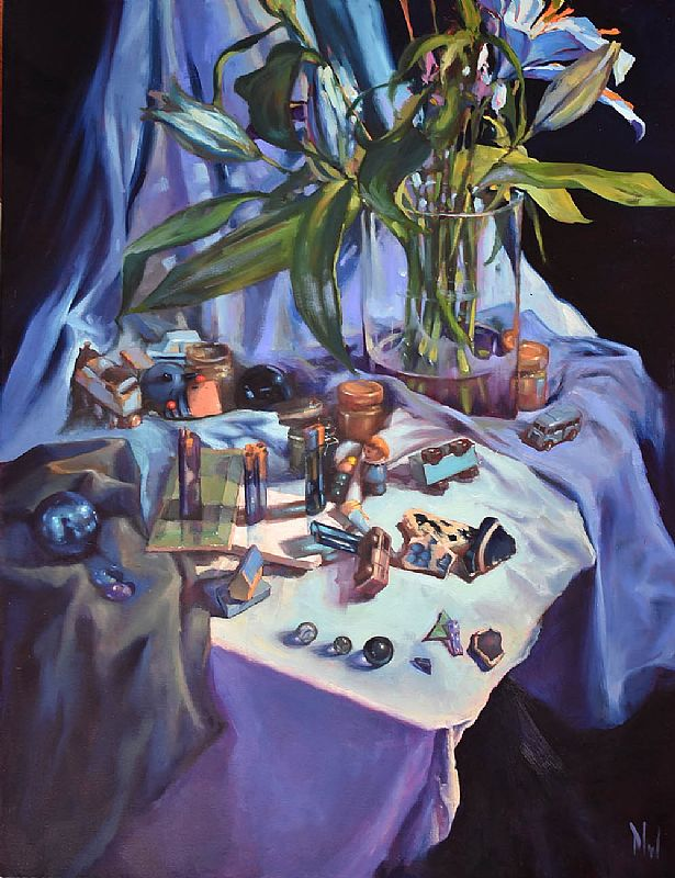 Dave West - Still Life in Blue