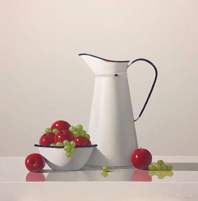 Vintage Enamelware with Fruit