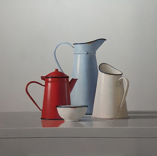 View One Red Jug