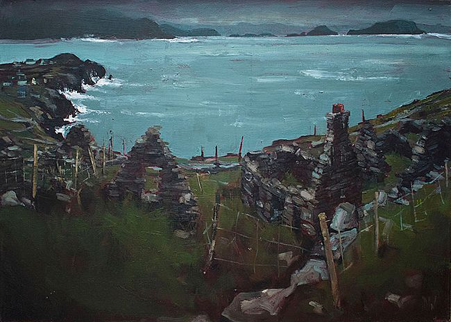 Dave West - Abandoned Village, Cill Rialaig