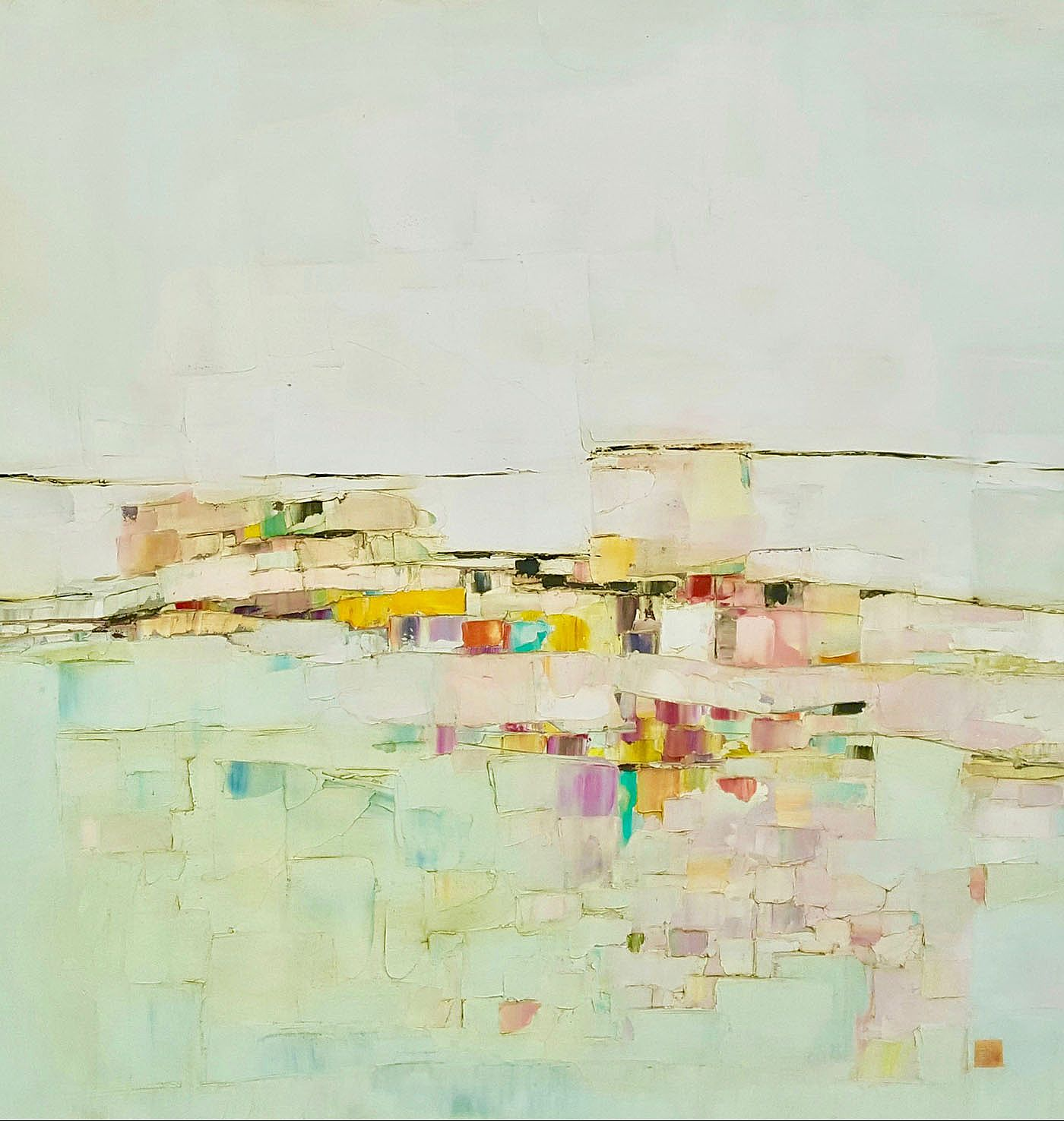 Eithne  Roberts - Abstract landscape