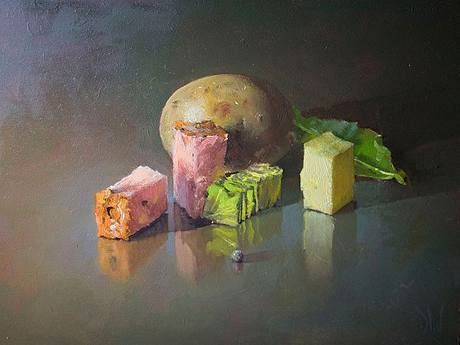 Bacon and Cabbage  by Dave West