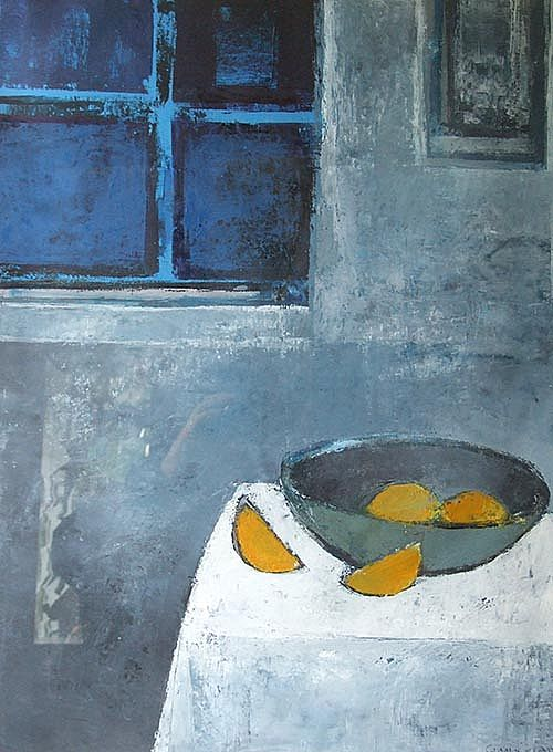 Cormac O'Leary - Blue Night Still life II