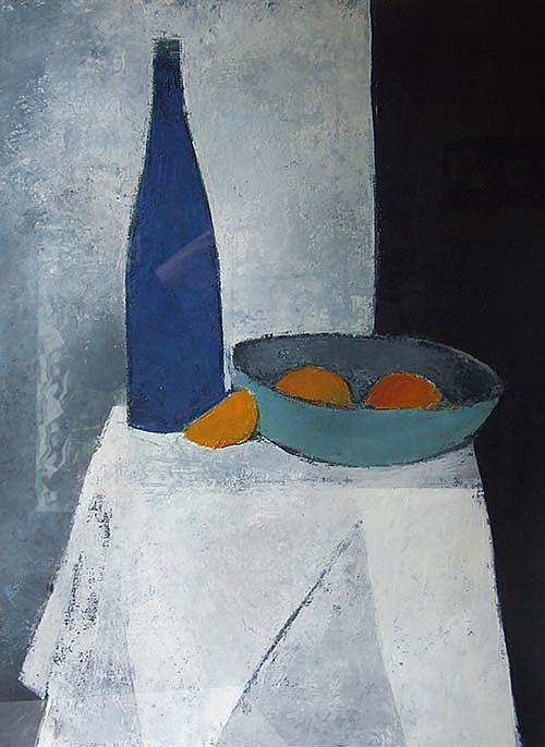 Blue Night Still life I by Cormac O'Leary