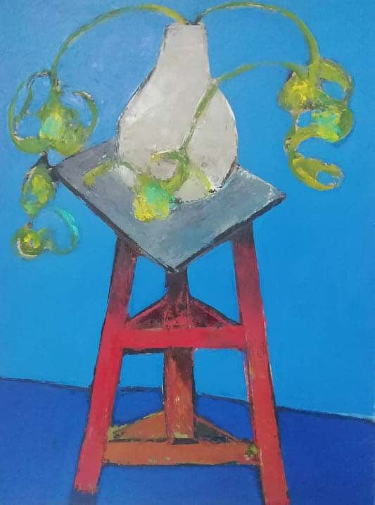 Blue studio Still Life by Cormac O'Leary