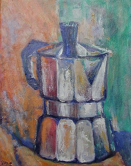 Fred McElwee - Coffee Pot