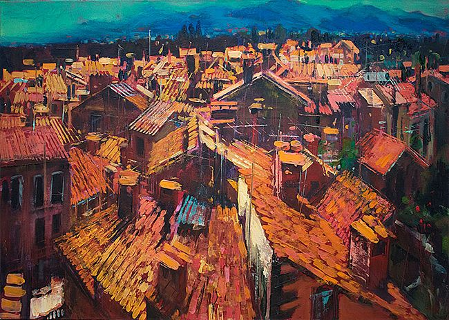 Dave West - Catalan Houses (Elne)