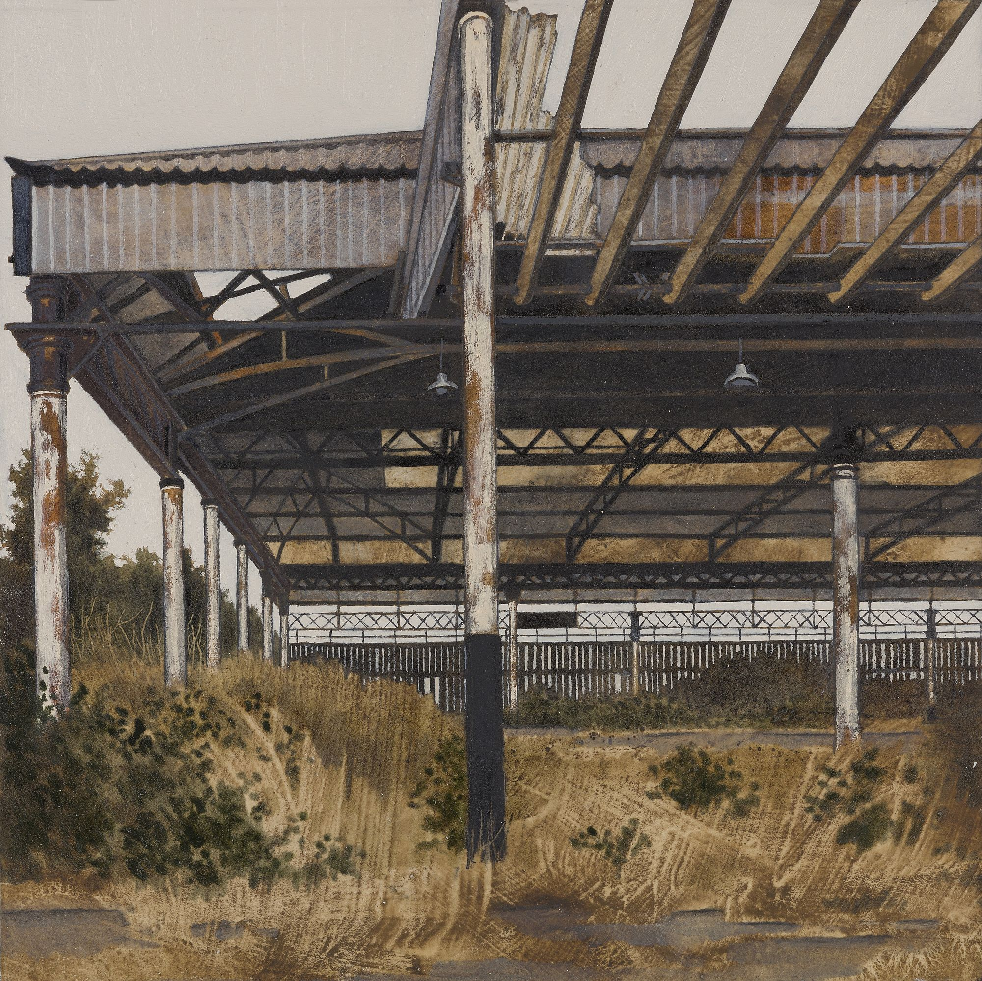 Cattle Shed  by Cate  Inglis