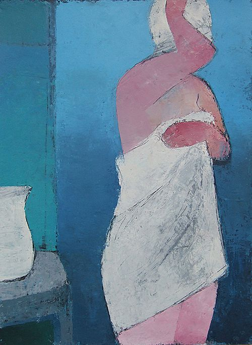 Cormac O'Leary - Blue French Bather