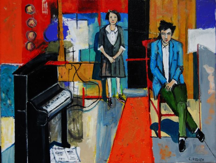 Christy Keeney Solo Show - 'In the Picture'