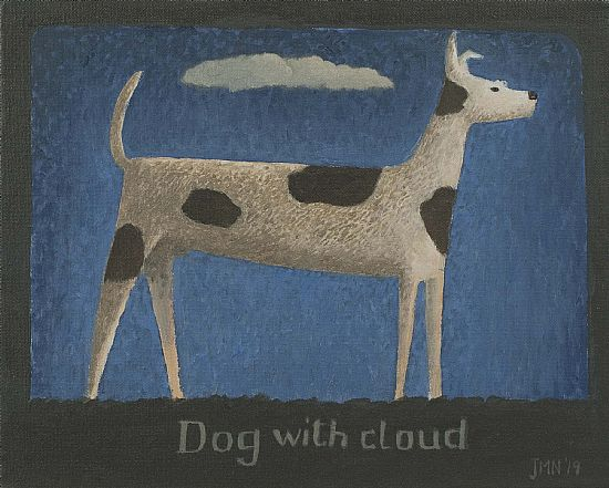 John  McNulty - Dog with cloud