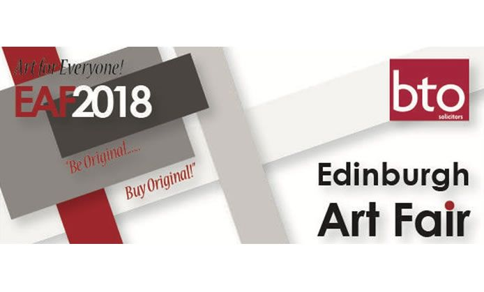 Edinburgh Art fair 2018