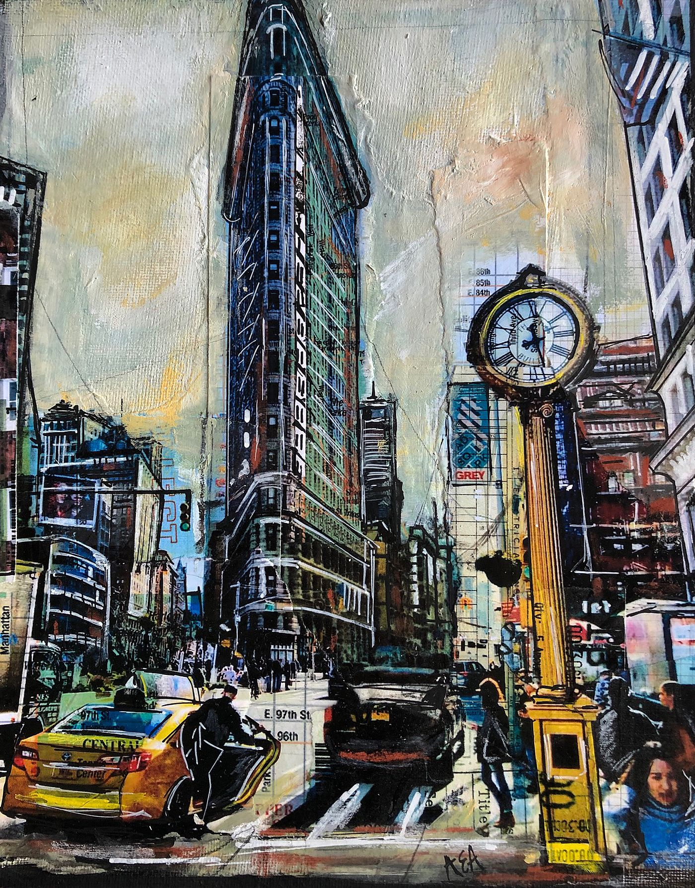 Anna  Allworthy - FLAT IRON, NEW YORK