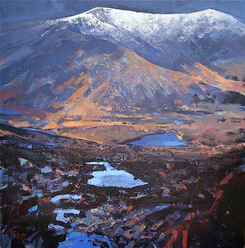 Unknown - First Snow ,Connor Pass/ An chéad sneachta an Connair