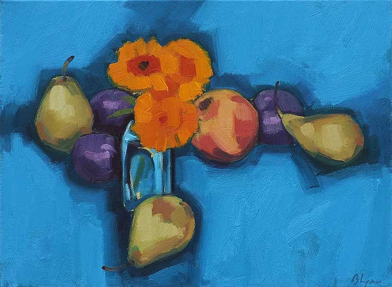 Unknown - Fruit And Flowers I