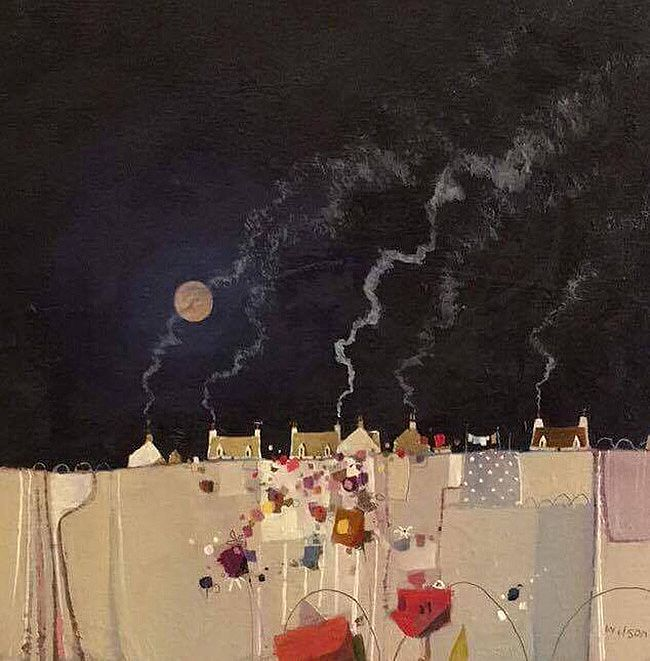 Gordon  Wilson - Full Summer Moon, Skye