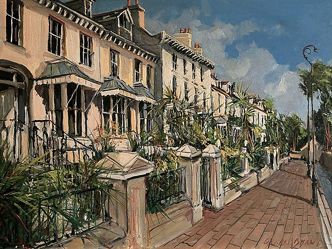 Afternoon at Clifton Terrace  by  Unknown