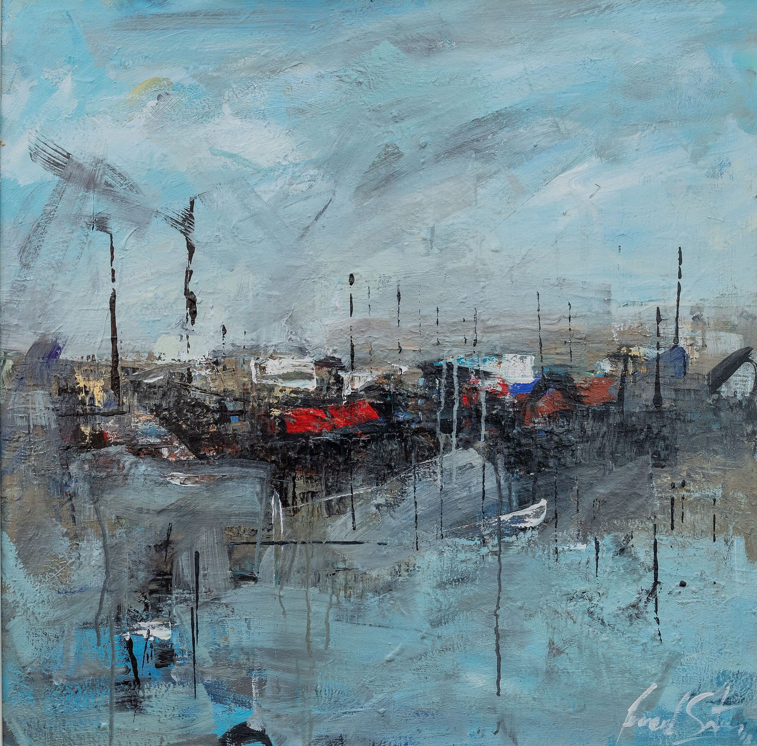 Harbour Stories I by Leonard Sexton