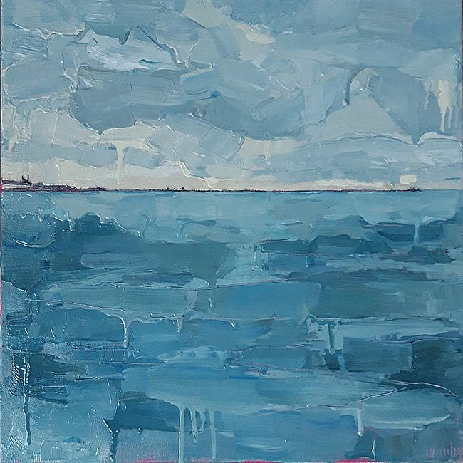Isobel  Henihan - On Water (Dún Laoghaire from 40ft)