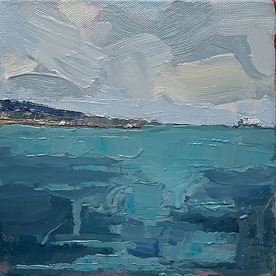 Isobel  Henihan - On Water (Howth from Seapoint)
