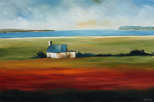 Lahinch Cottage by Padraig McCaul